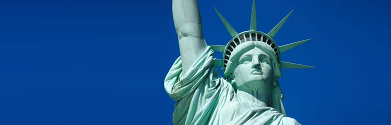 555 English School・Statue of Liberty - New York, U.S.A.