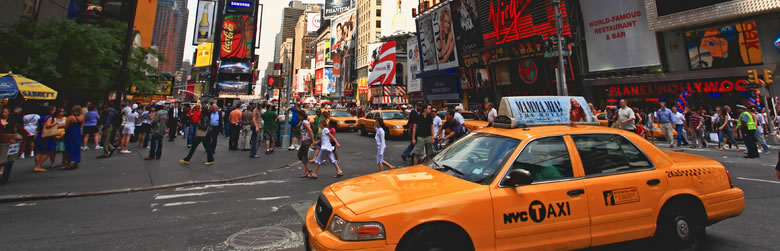 555 English School・Taxi - New York, U.S.A.